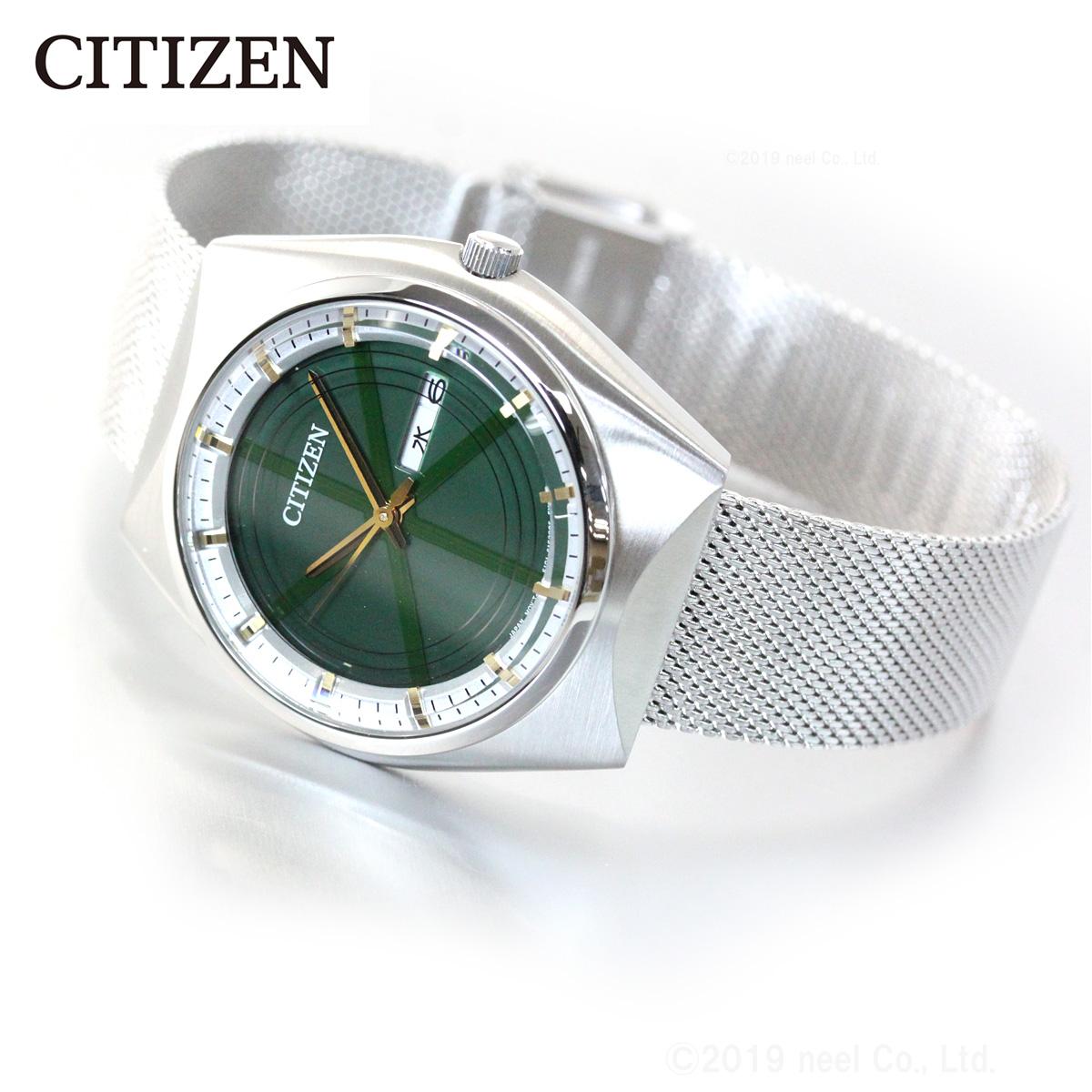シチズン CITIZEN 太陽電池搭載 プロトタイプデザイン 継承モデル 特定店取扱いモデル エコドライブ ソーラー 腕時計 メンズ BM8541-74W