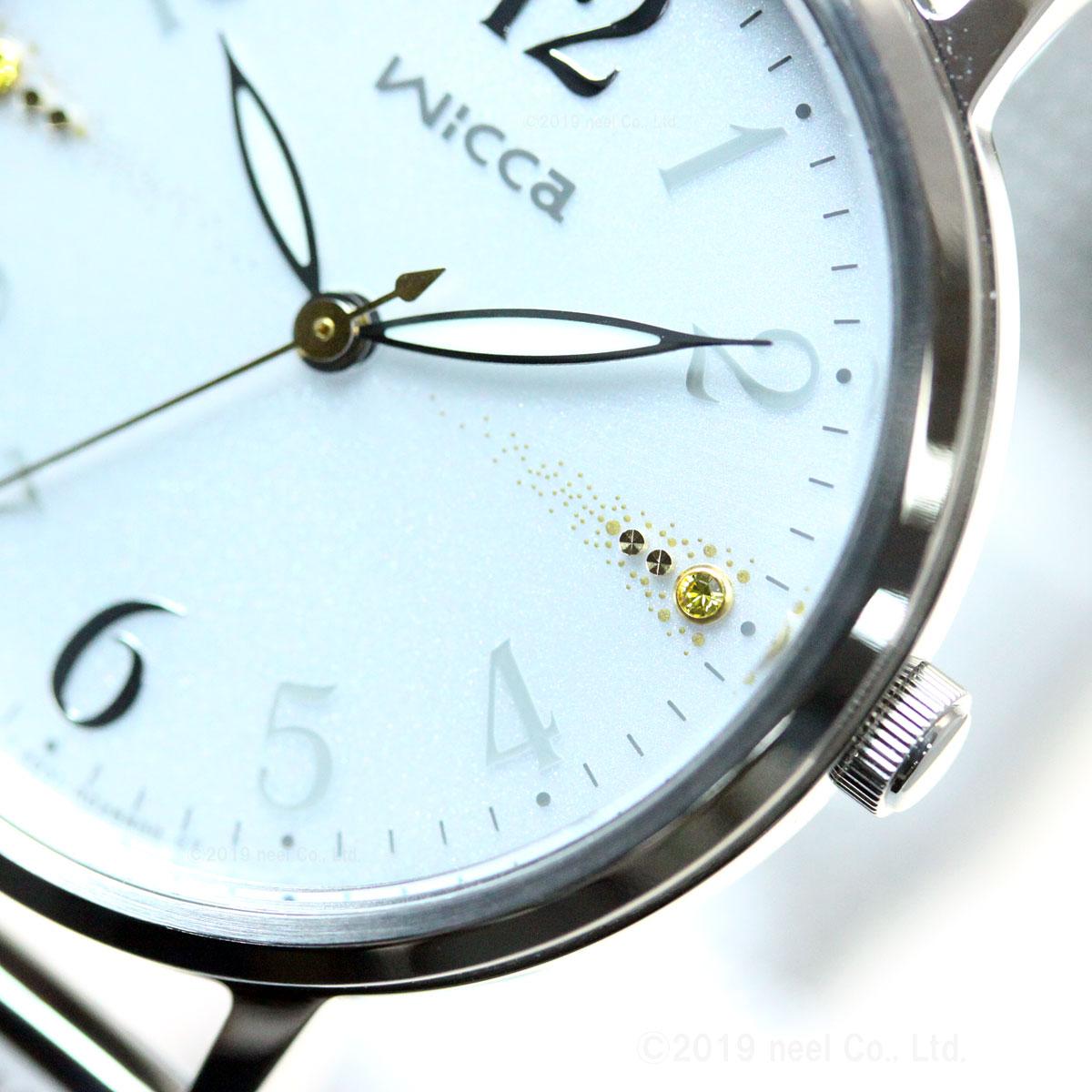 ウィッカ シチズン wicca ソーラーテック 腕時計 レディース KP5-115-11