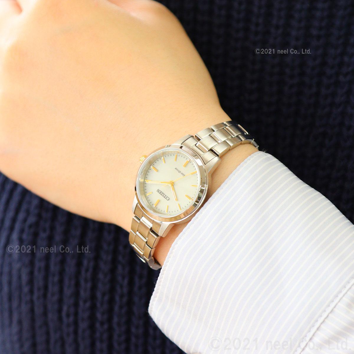 シチズンコレクション CITIZEN COLLECTION エコドライブ ソーラー 腕時計 レディース EM0930-58P