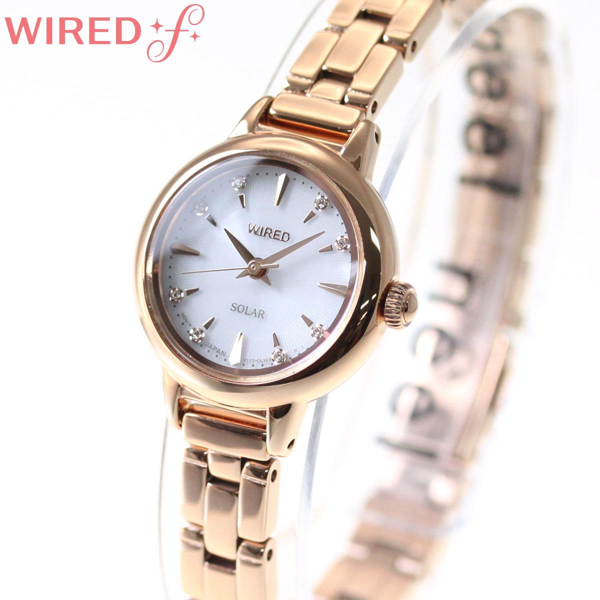 セイコー ワイアード エフ SEIKO WIRED f ソーラー 腕時計 レディース AGED106