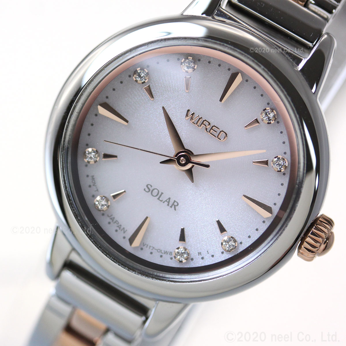 セイコー ワイアード エフ SEIKO WIRED f ソーラー 腕時計 レディース AGED107
