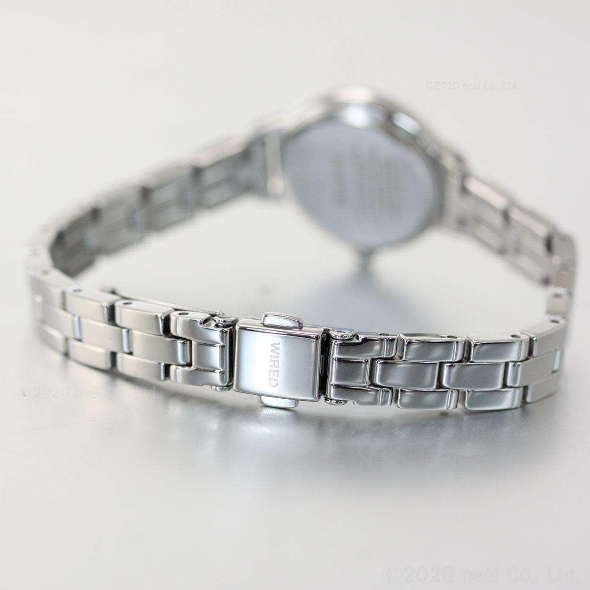 セイコー ワイアード エフ SEIKO WIRED f ソーラー 腕時計 レディース AGED108