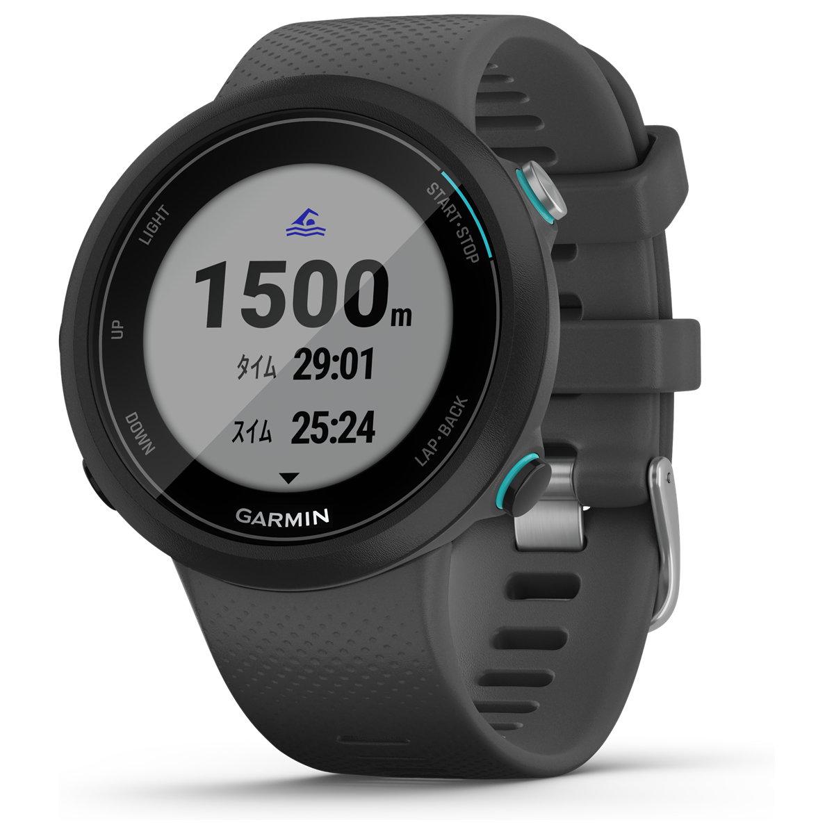 ガーミン GARMIN スイム2 スレート GPSスイミング用 スマートウォッチ 腕時計 010-02247-40