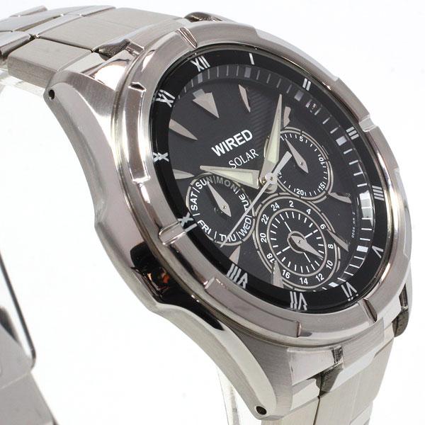 セイコー ワイアード SEIKO WIRED ソーラー 腕時計 メンズ ニュースタンダードモデル AGAD032【正規品】【送料無料】