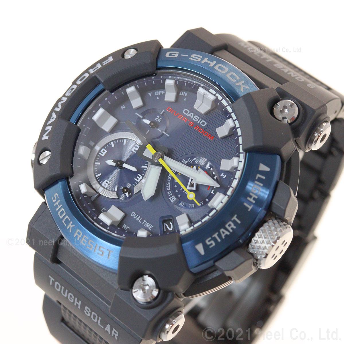G-SHOCK 電波 ソーラー 電波時計 カシオ Gショック フロッグマン CASIO FROGMAN 腕時計 メンズ MASTER OF G GWF-A1000C-1AJF