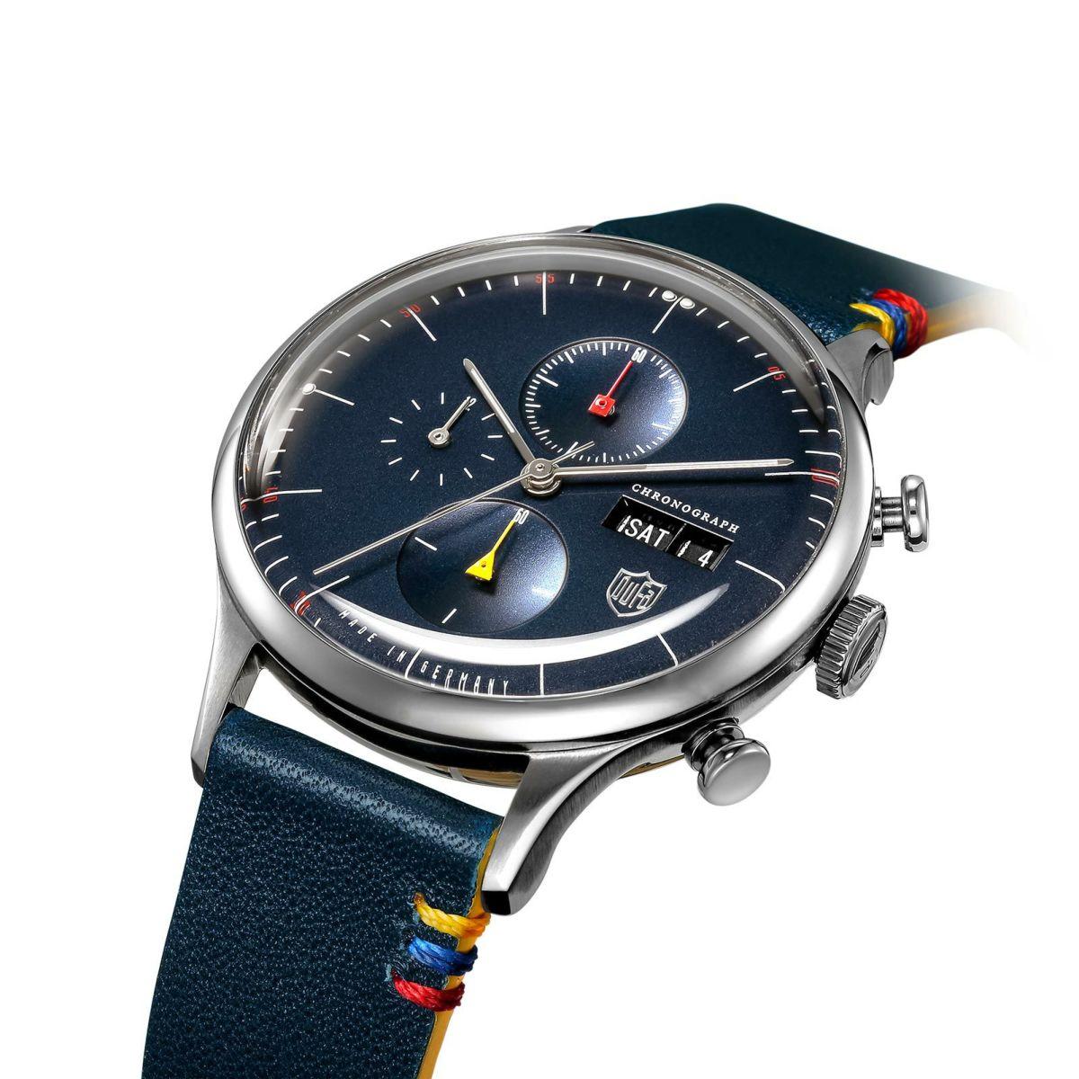 ドゥッファ DUFA 腕時計 メンズ レディース エレメンツシリーズ ELEMENTS SERIES クロノグラフ DF-9021-0D