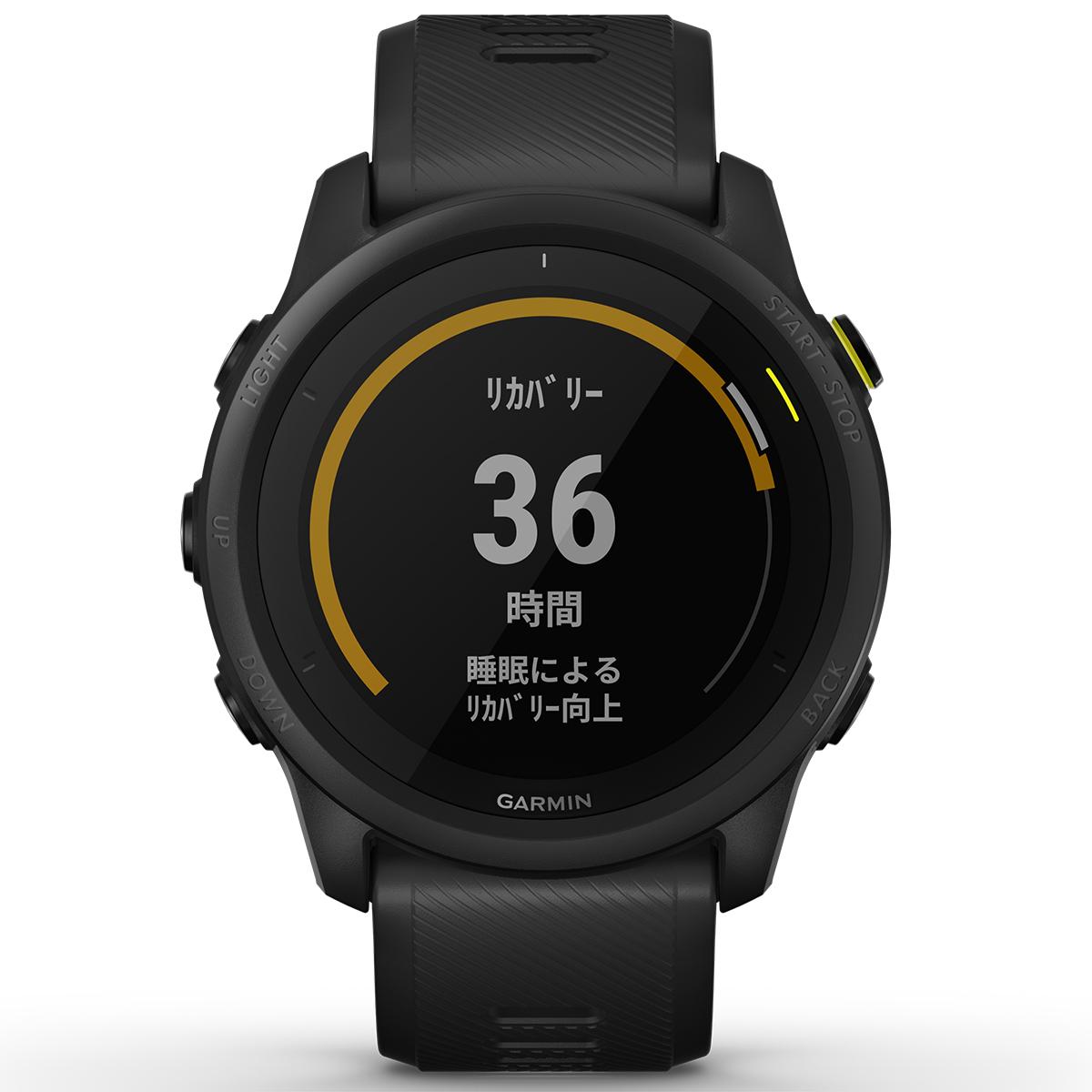 ガーミン GARMIN ForeAthlete 745 フォアアスリート745 ランニング トライアスロン用 GPSウォッチ スマートウォッチ ウェアラブル 腕時計 ブラック 010-02445-40