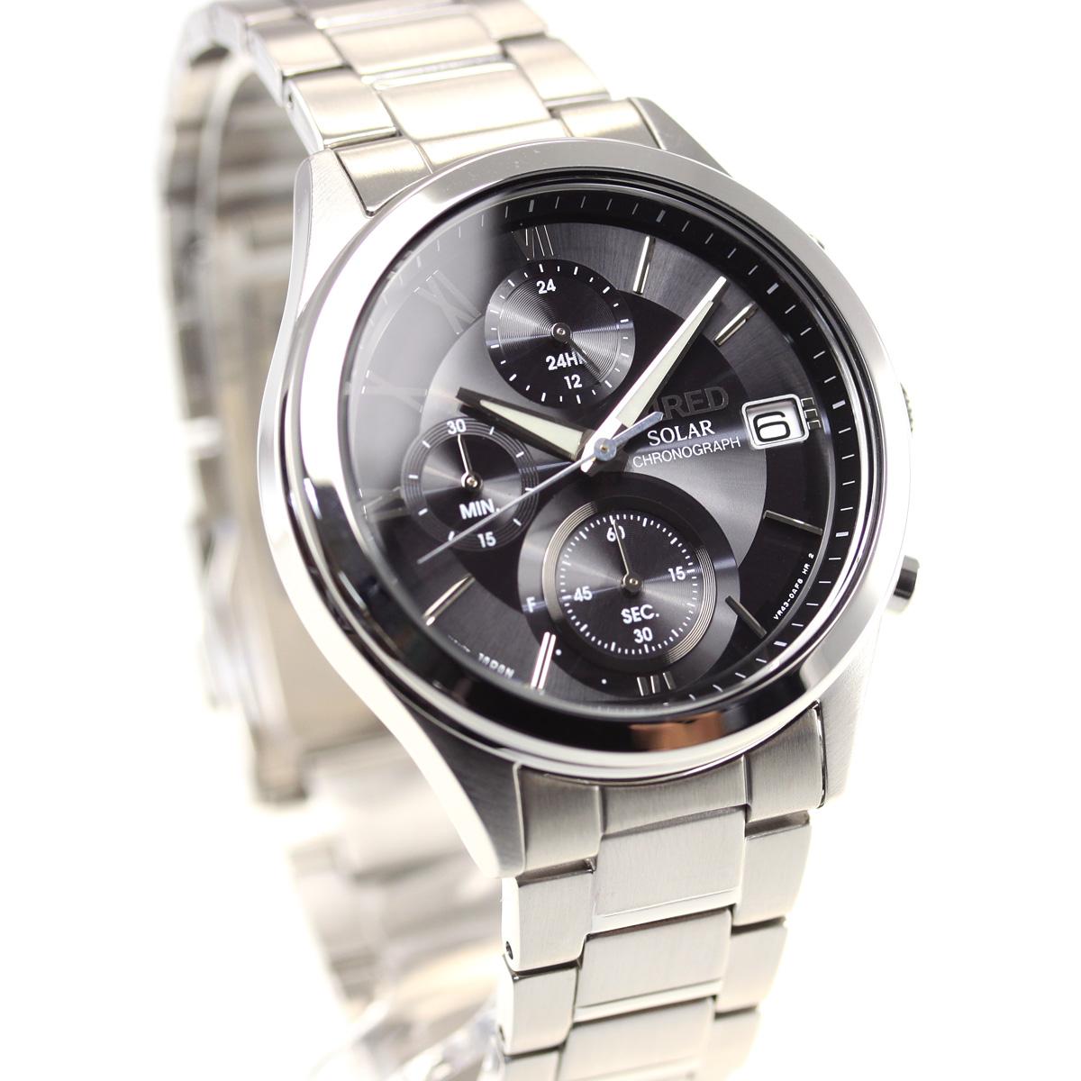 セイコー ワイアード ペアスタイル SEIKO WIRED PAIR STYLE ソーラー 腕時計 メンズ クロノグラフ AGAD098