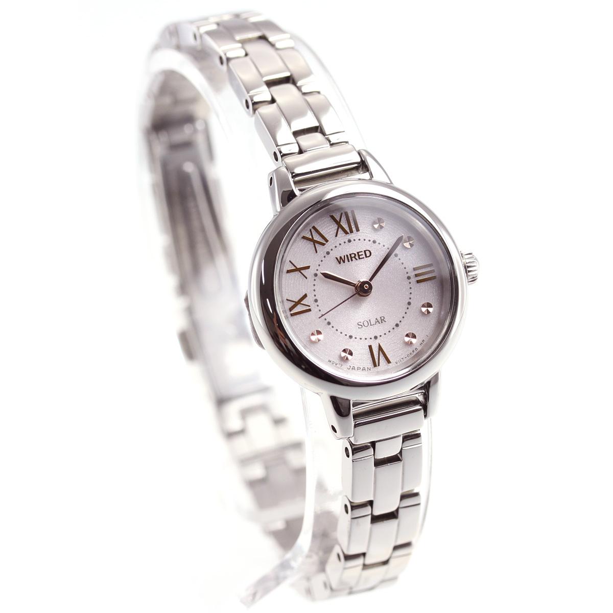 セイコー ワイアード エフ SEIKO WIRED f ソーラー 腕時計 レディース AGED094