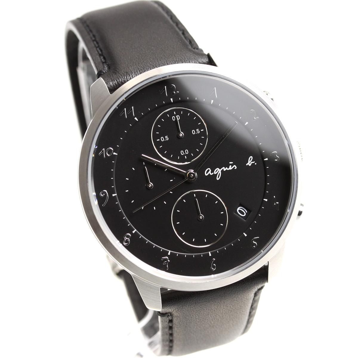 アニエスベー agnes b. 腕時計 メンズ/レディース クロノグラフ マルチェロ Marcello FBRW987