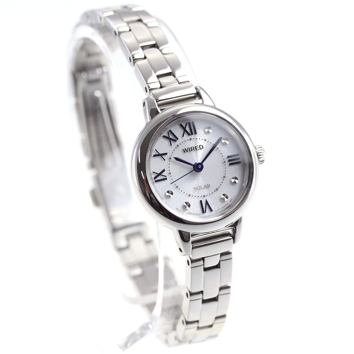 セイコー ワイアード エフ SEIKO WIRED f ソーラー 腕時計 レディース AGED095
