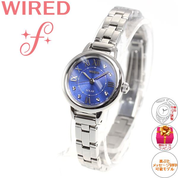セイコー ワイアード エフ SEIKO WIRED f ソーラー 腕時計 レディース AGED096