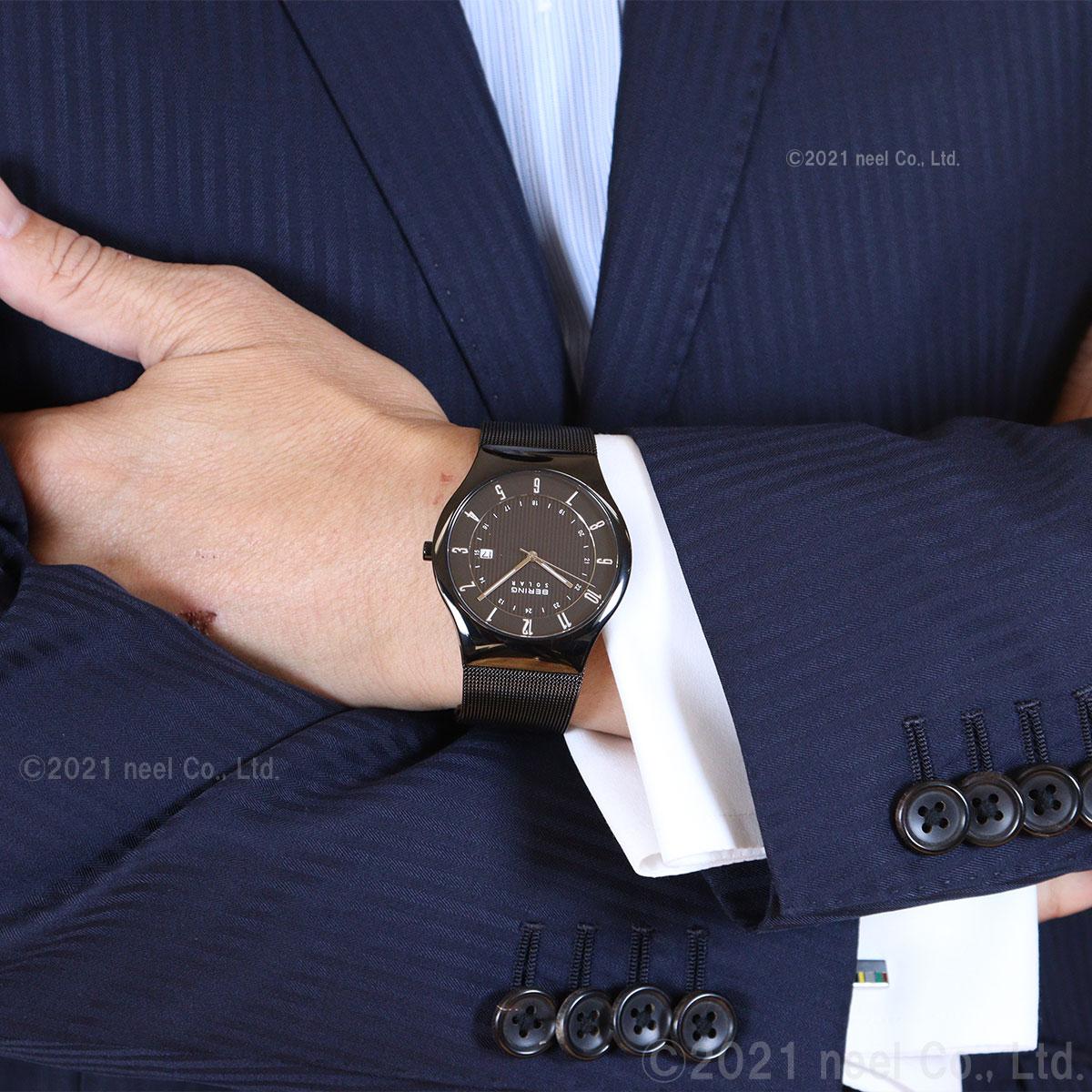ベーリング BERING 腕時計 メンズ ソーラー スリムソーラー slim solar 14640-222