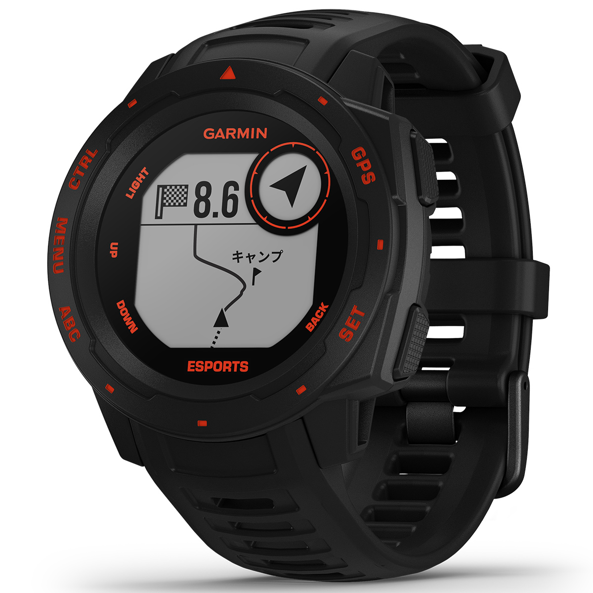 ガーミン GARMIN インスティンクト eスポーツ エディション Instinct Esports Edition GPS スマートウォッチ ウェアラブル 腕時計 メンズ レディース 010-02064-76