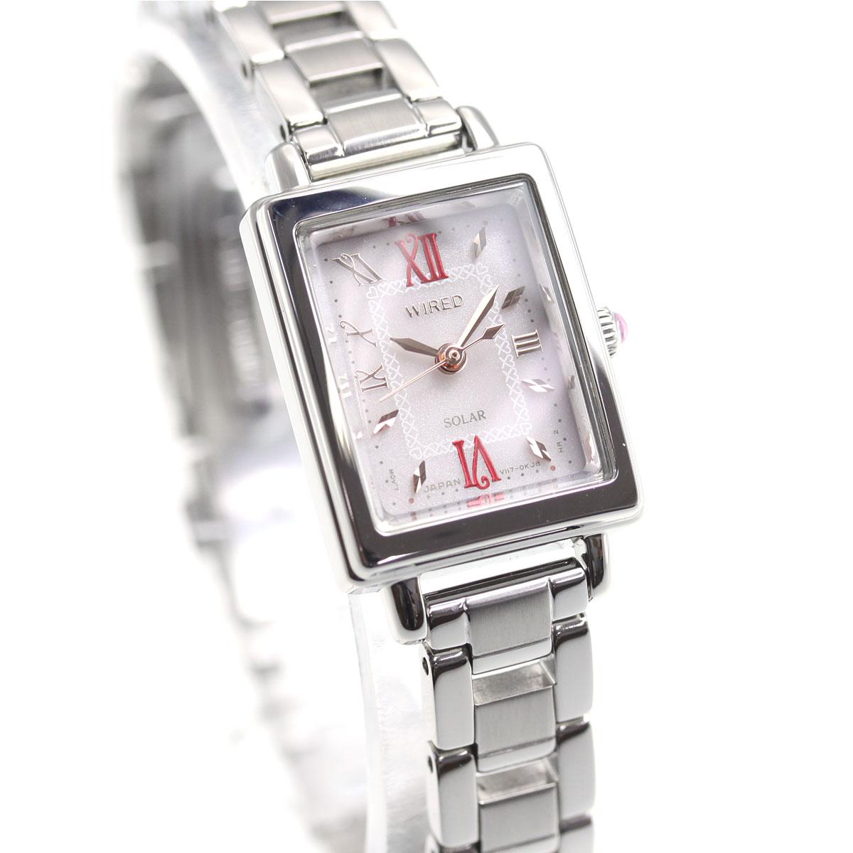 セイコー ワイアード エフ SEIKO WIRED f ソーラー 腕時計 レディース AGED102
