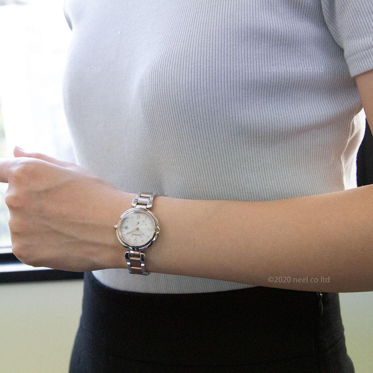 シチズン クロスシー エコドライブ 電波時計 mizu collection レディース 腕時計 ティタニアライン ハッピーフライト CITIZEN xC ES9465-50W