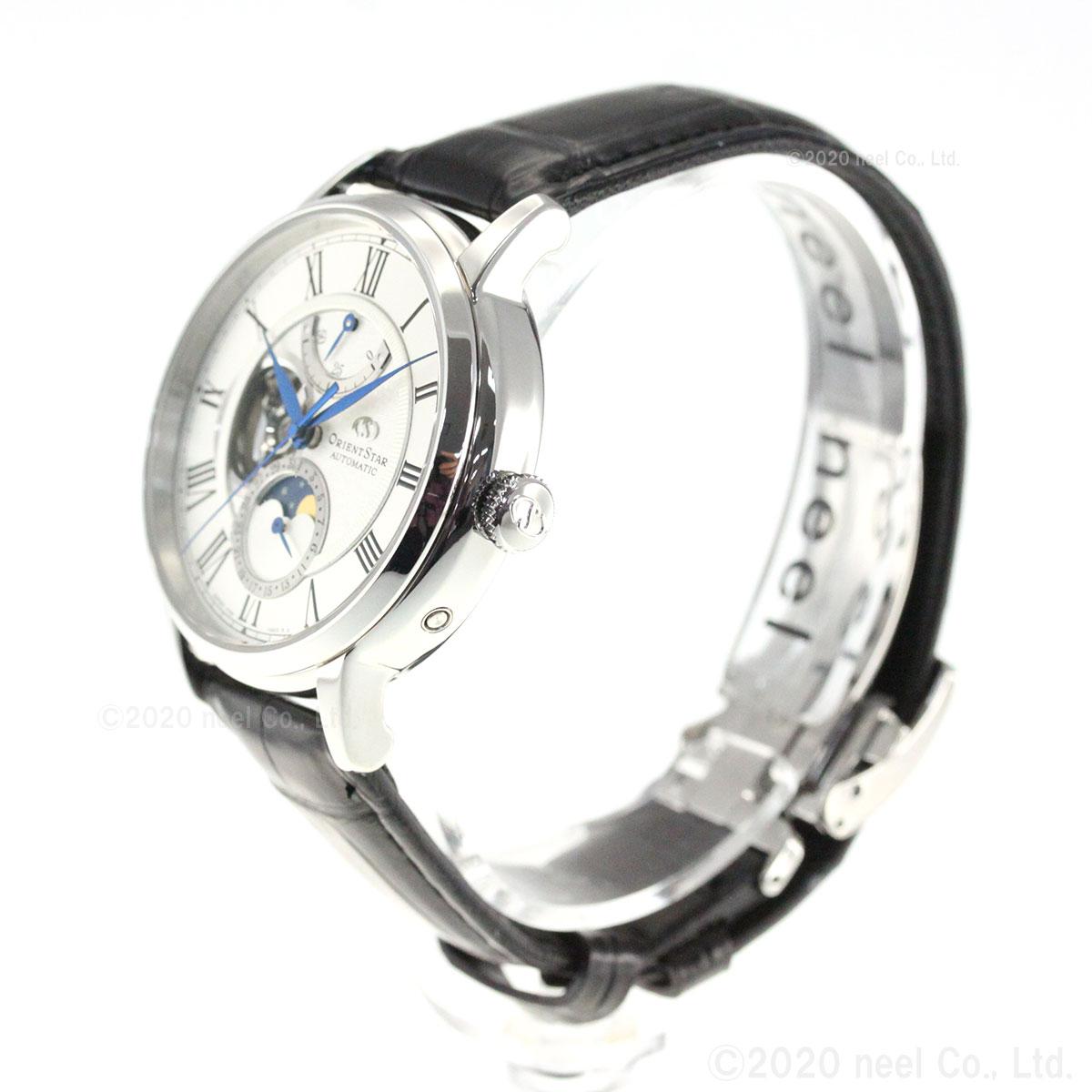 オリエントスター ORIENT STAR 腕時計 メンズ 自動巻き 機械式 クラシック CLASSIC メカニカルムーンフェイズ RK-AY0101S