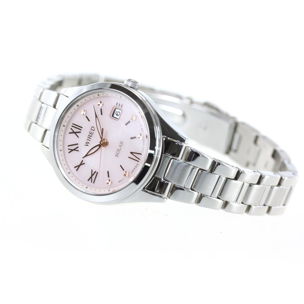 セイコー ワイアード ペアスタイル SEIKO WIRED PAIR STYLE ソーラー 腕時計 レディース AGED105