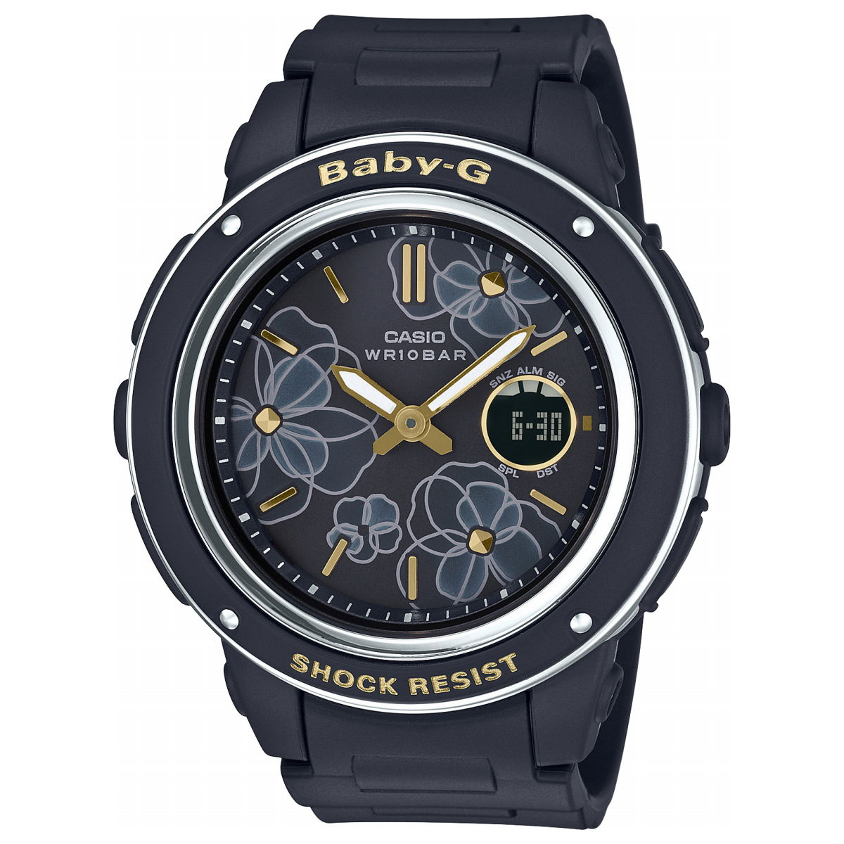 BABY-G カシオ ベビーG レディース 腕時計 フローラル ダイアル 花柄 BGA-150FL-1AJF