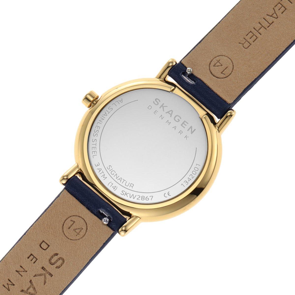 スカーゲン SKAGEN 腕時計 レディース シグネチャー SIGNATUR SKW2867