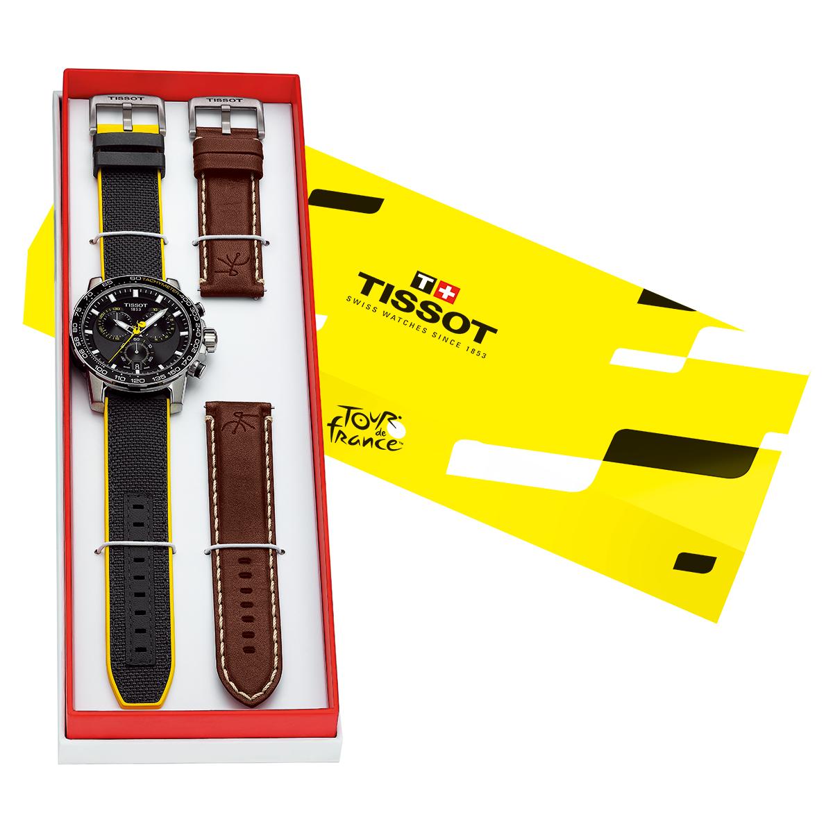 ティソ TISSOT 腕時計 メンズ スーパースポーツ クロノ ツール・ド・フランス スペシャルエディション Supersport Tour de France Special Edition T125.617.17.051.00