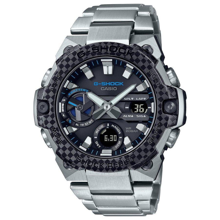 G-SHOCK ソーラー G-STEEL カシオ Gショック Gスチール CASIO 腕時計 メンズ タフソーラー GST-B400XD-1A2JF