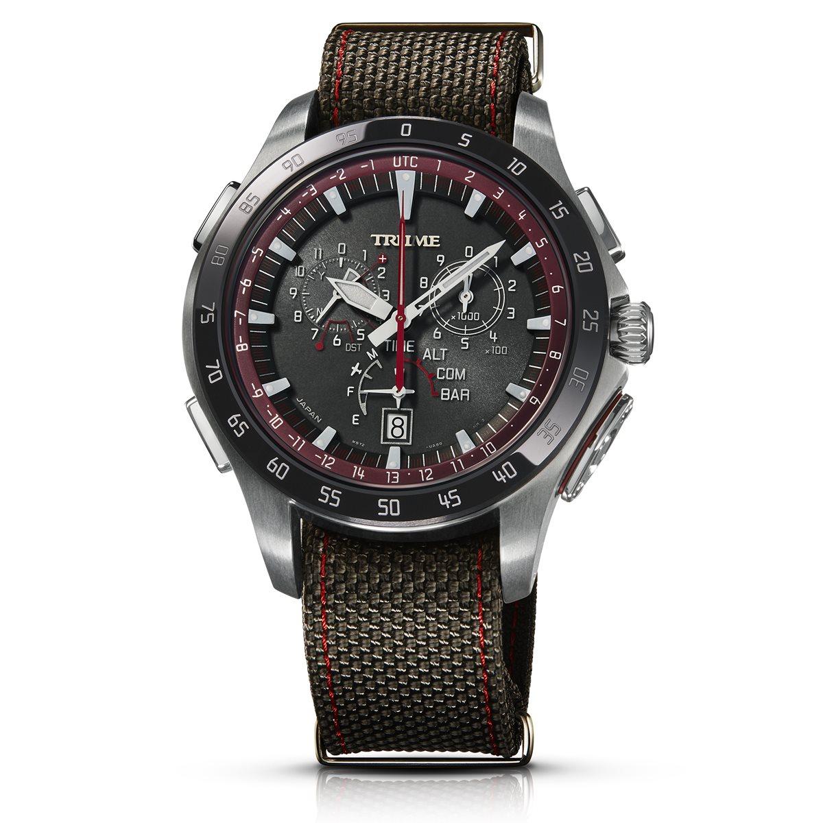 エプソン トゥルーム EPSON TRUME ライトチャージ GPS衛星電波時計 限定モデル 腕時計 メンズ M collection TR-MB7010X