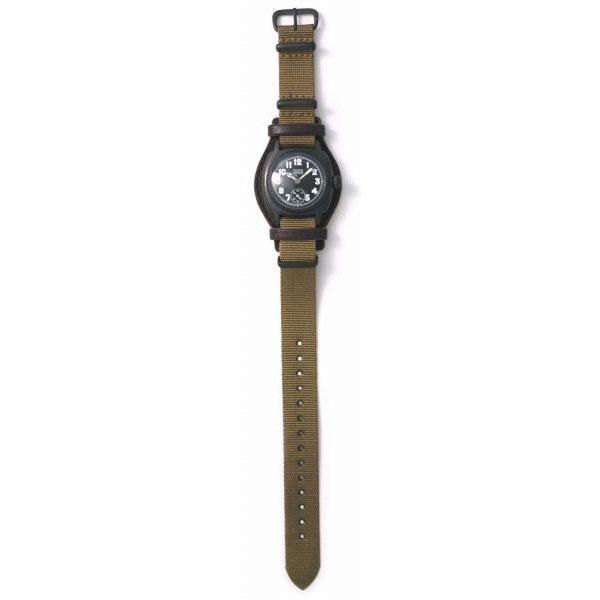 ヴァーグウォッチ VAGUE WATCH Co. 腕時計 COUSSIN COAL MIL メンズ クッサンミリタリー CO-L-007-09BK