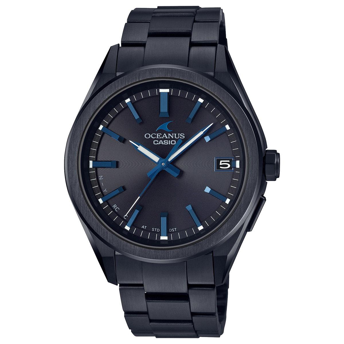 オシアナス 電波ソーラー 腕時計 メンズ OCW-T200SB-1AJF カシオ