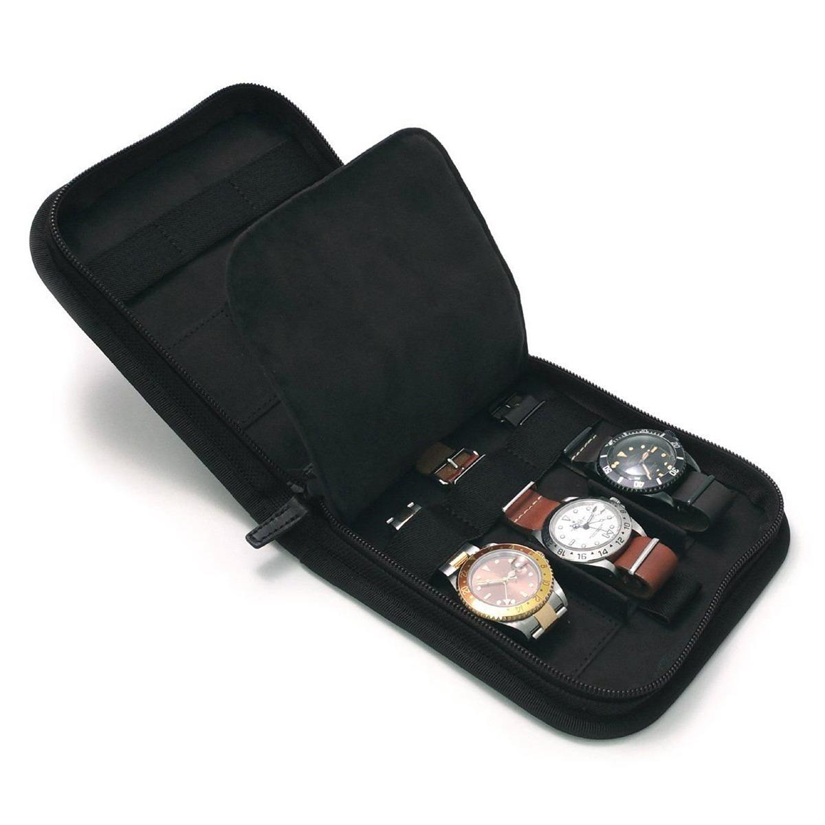 ヴァーグウォッチ VAGUE WATCH Co. ポーター PORTER 腕時計ケース 時計収納ケース 6本用 ブラック WC-M-001