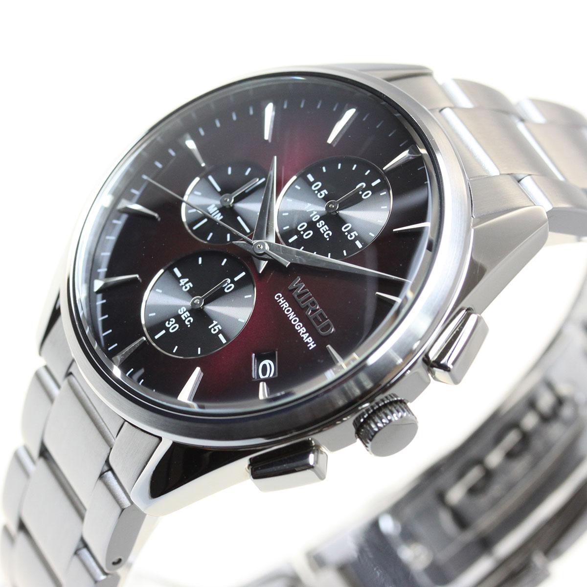 セイコー ワイアード SEIKO WIRED 腕時計 メンズ クロノグラフ TOKYO SORA AGAT439