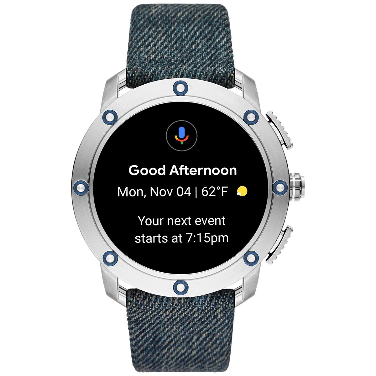 ディーゼル DIESEL ON スマートウォッチ ウェアラブル 腕時計 メンズ アキシャル AXIAL DZT2015