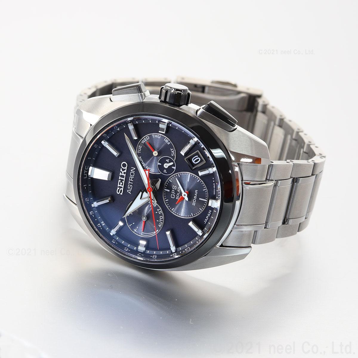 セイコー アストロン SEIKO ASTRON ソーラーGPS衛星電波時計 腕時計 メンズ SBXC103