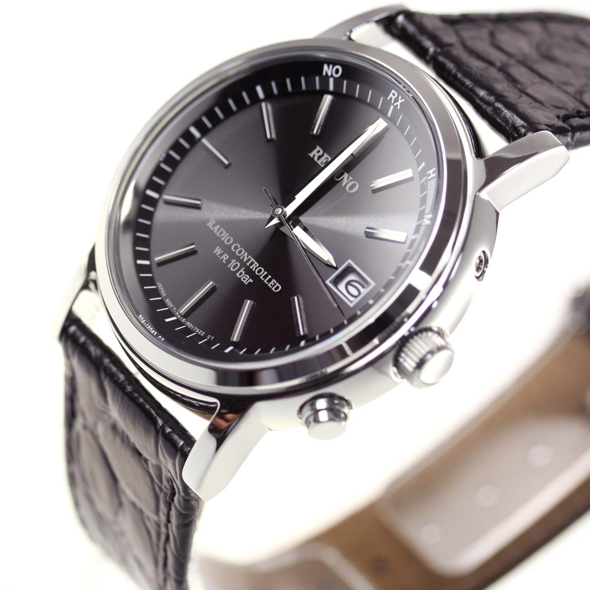 シチズン レグノ CITIZEN REGUNO ソーラー 電波時計 腕時計 メンズ クラシック ストラップ KL7-019-50【シチズン レグノ】【正規品】【送料無料】