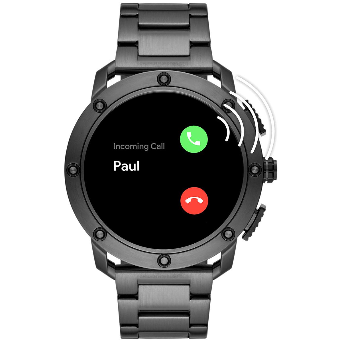 ディーゼル DIESEL ON スマートウォッチ ウェアラブル 腕時計 メンズ アキシャル AXIAL DZT2017