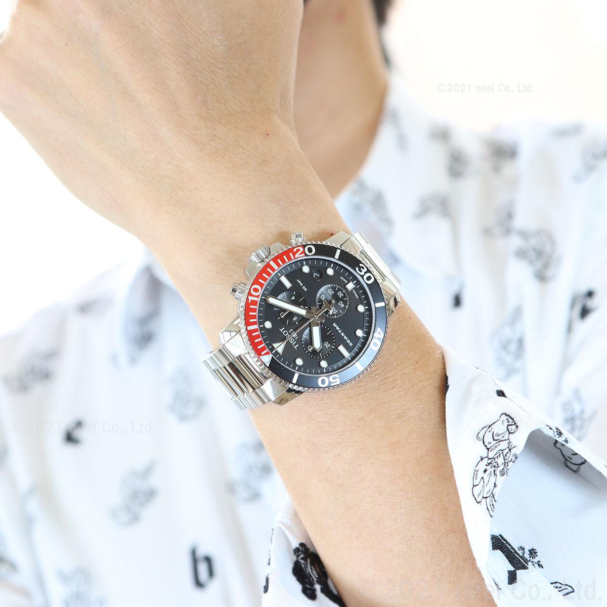 ティソ TISSOT 腕時計 メンズ シースター 1000 クロノグラフ SEASTAR 1000 CHRONOGRAPH T120.417.11.051.01