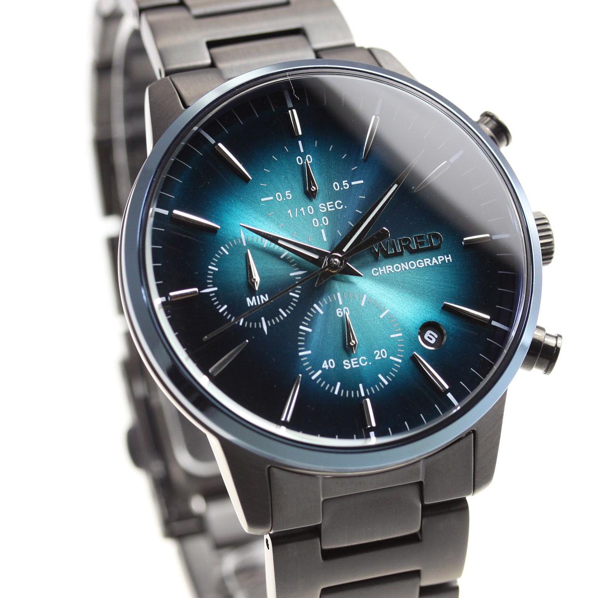 セイコー ワイアード SEIKO WIRED 腕時計 メンズ クロノグラフ TOKYO SORA AGAT420