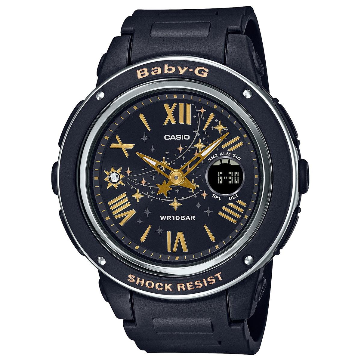 BABY-G カシオ ベビーG レディース 腕時計 Star Dial BGA-150ST-1AJF