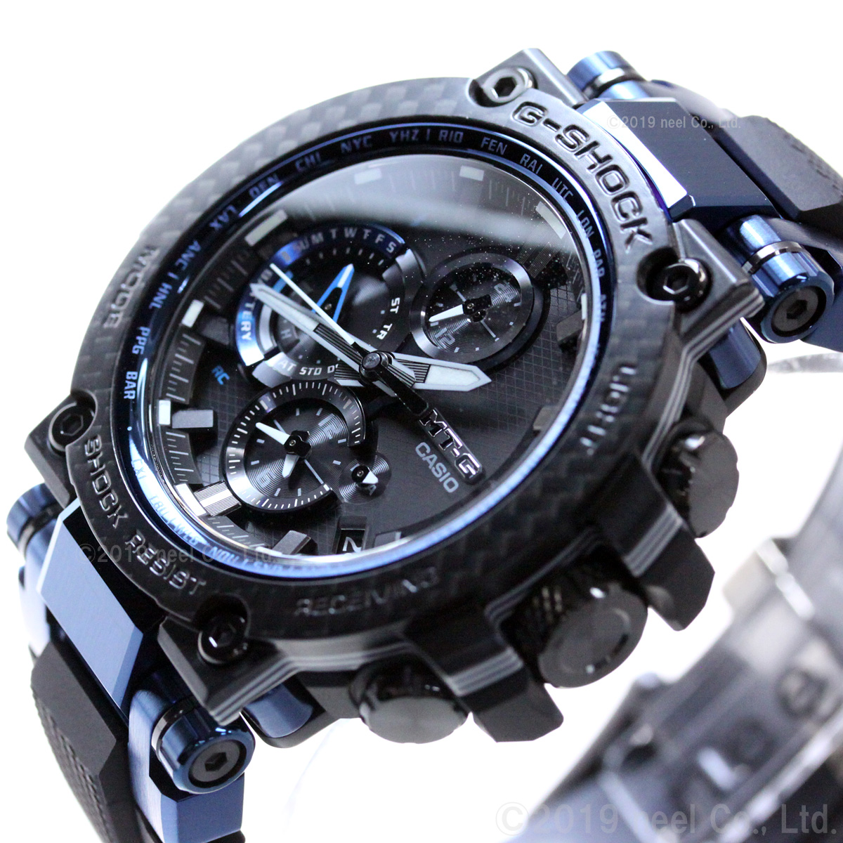 Gショック MT-G G-SHOCK 電波 ソーラー メンズ 腕時計 MTG-B1000XB-1AJF ジーショック