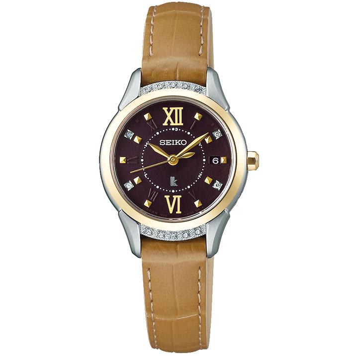セイコー ルキア SEIKO LUKIA 電波 ソーラー ピエール・エルメ プロデュース 限定モデル 腕時計 レディース レディダイヤ Lady Diamond SSVW142
