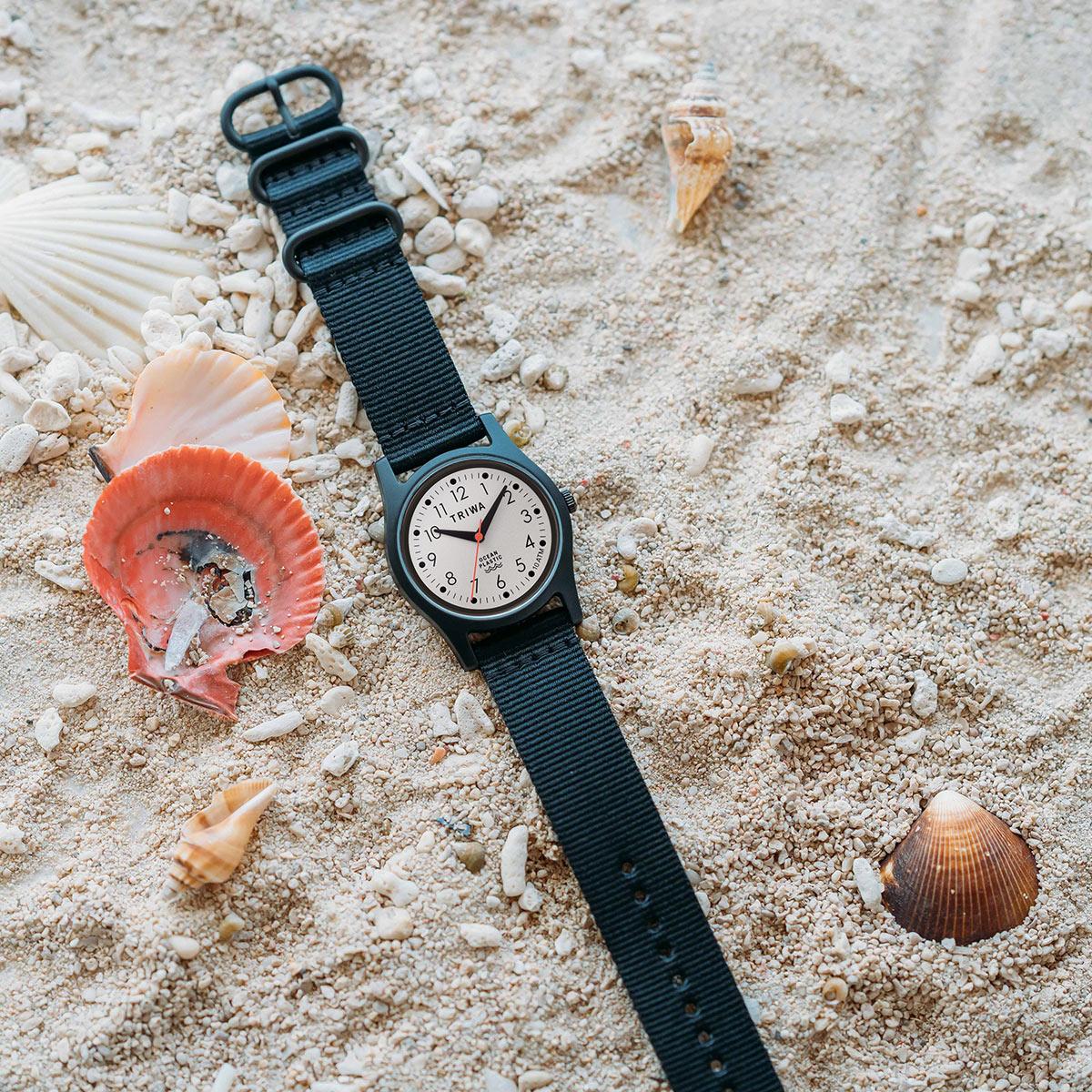 トリワ TRIWA 腕時計 メンズ レディース タイムフォーオーシャンズ 日本限定モデル ホワイト TIME FOR OCEANS JAPAN LIMITED TFO112-CL150101