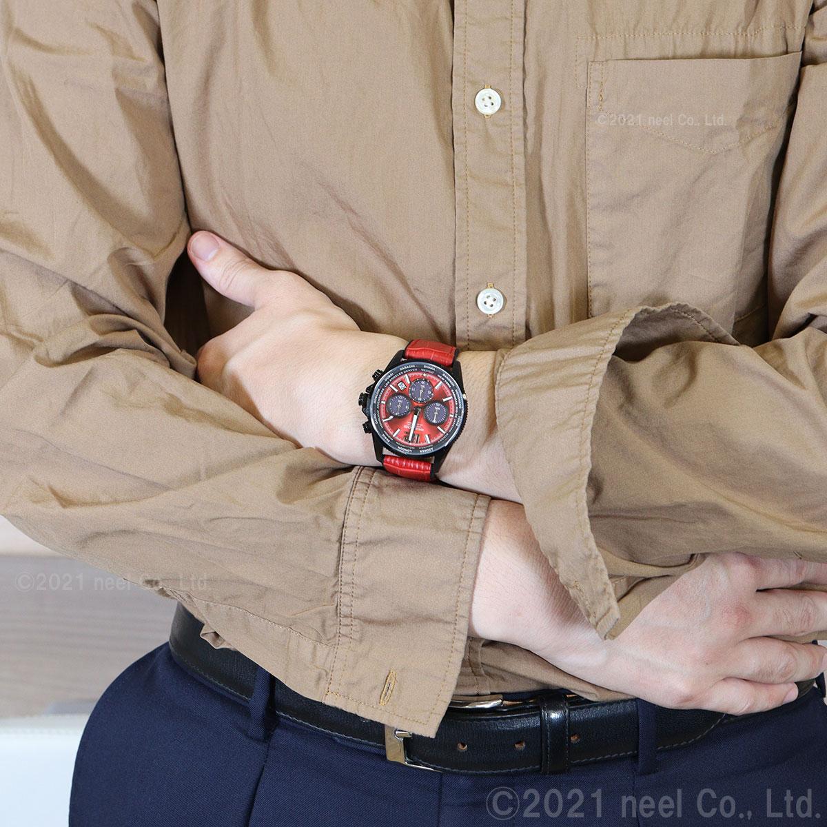 エンジェルクローバー ANGEL CLOVER ソーラー 腕時計 メンズ モンドソーラー MONDO SOLAR クロノグラフ MOS42BRE-RE