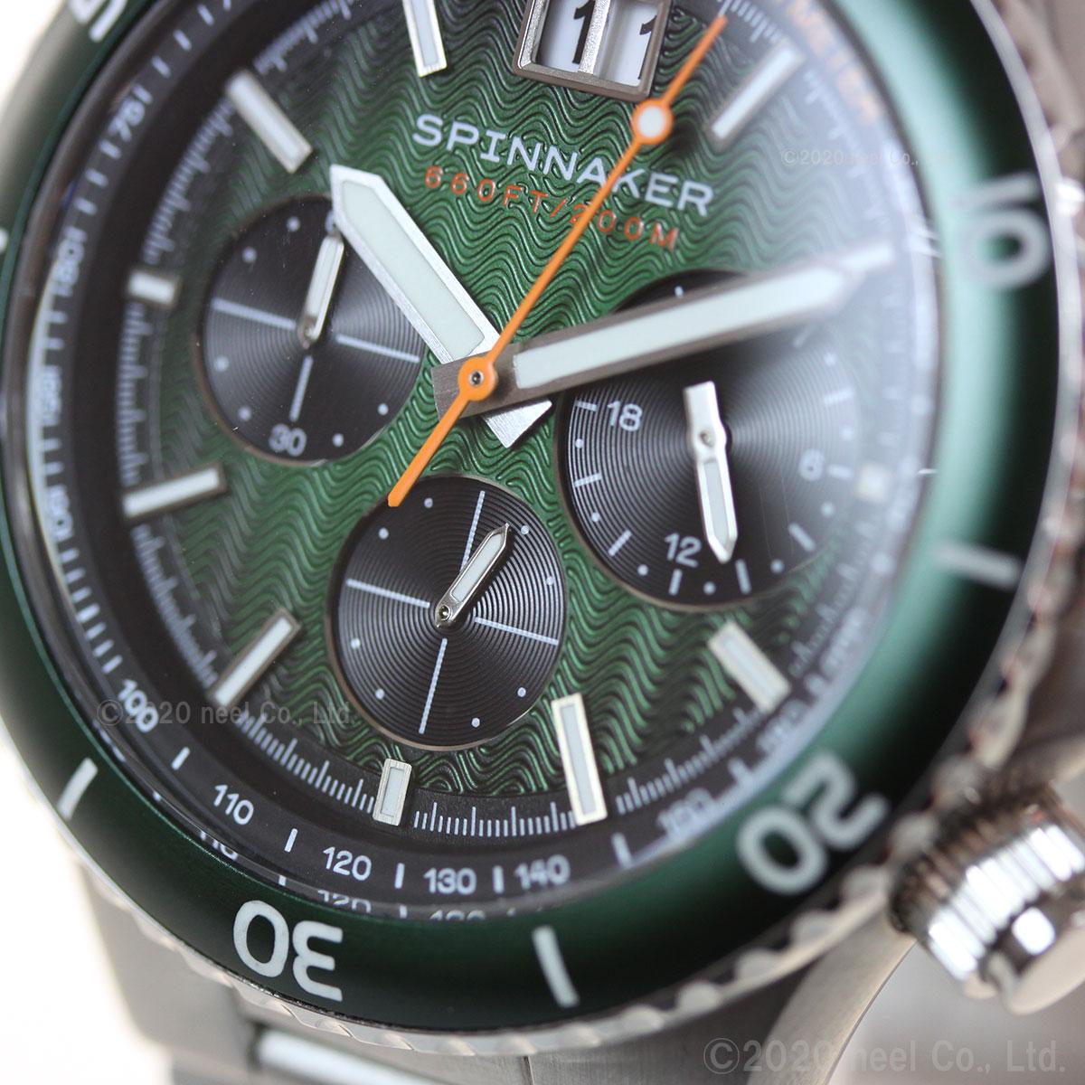 スピニカー SPINNAKER 腕時計 メンズ ハイドロフォイル HYDROFOIL メカクォーツ SP-5086-44