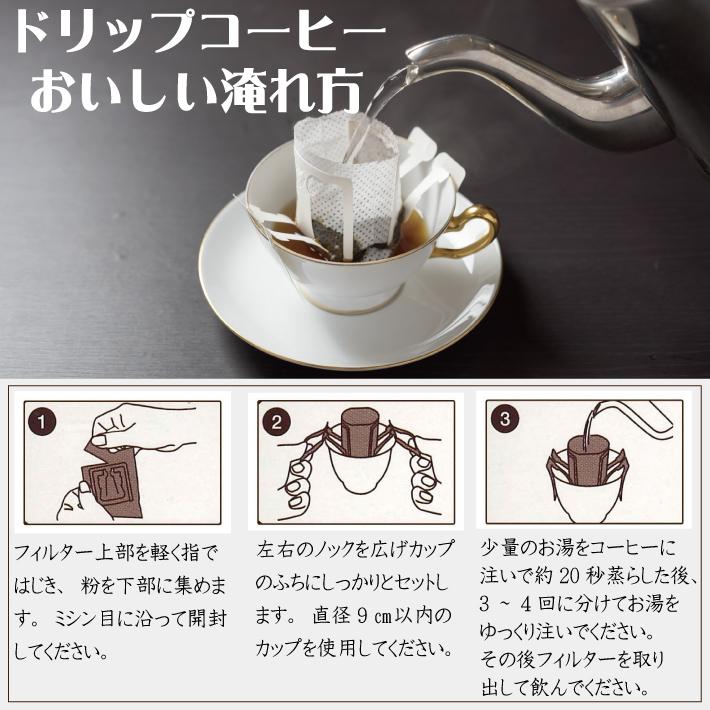 ドリップコーヒー4箱セット(伝承香味ブレンド)