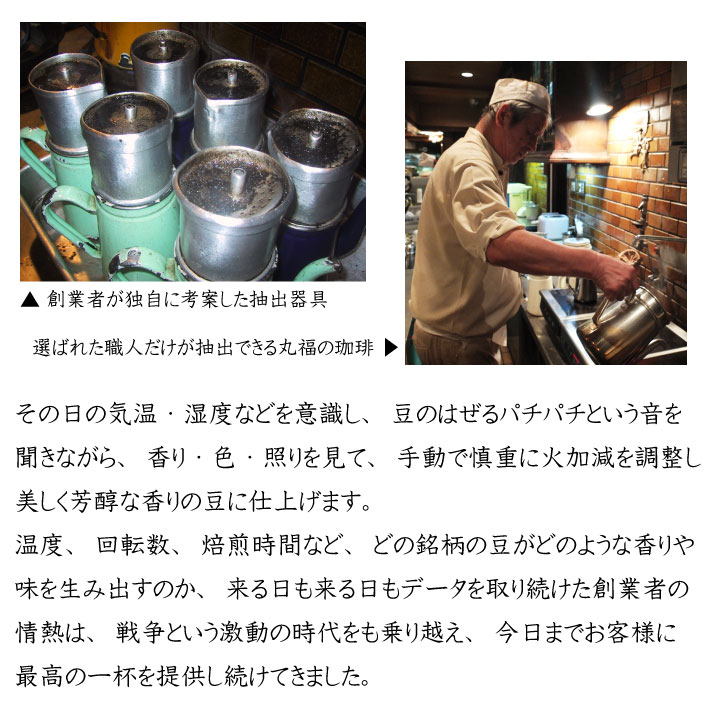 レギュラーコーヒーの詰め合わせ