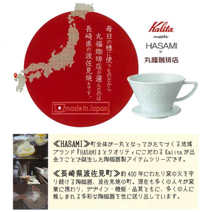カリタ×丸福珈琲店コラボドリッパーセット