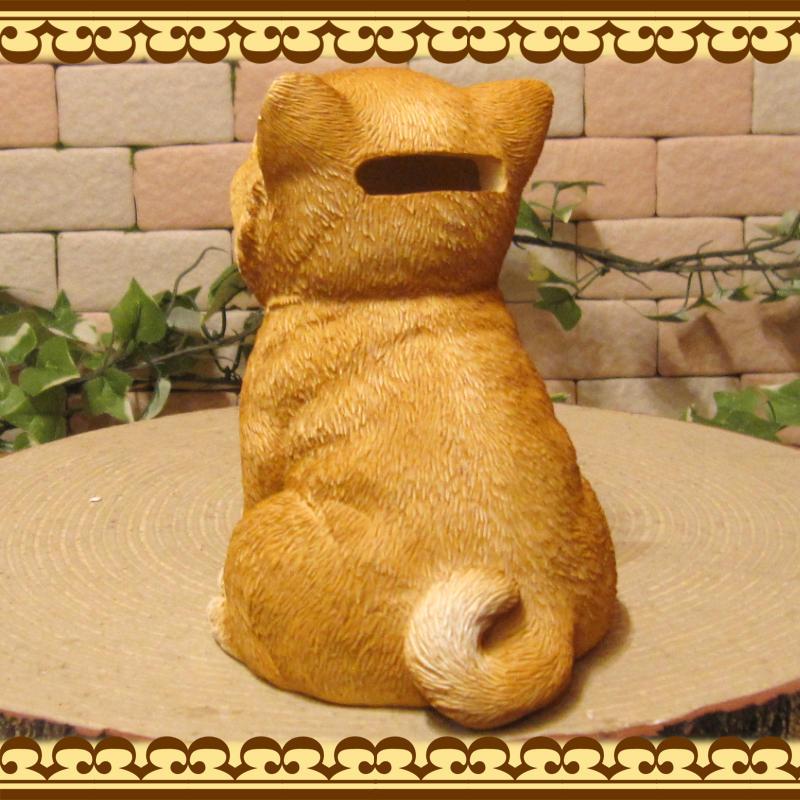 犬の置物 可愛い 柴犬の貯金箱 おすましドッグ アニマルバンク ドッグオブジェ いぬ イヌ しばいぬ しばけん インテリア
