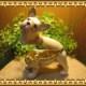 犬の置物 フレンチブルドッグ 小物入れ いぬ イヌ ジュエリーケース 宝石箱 トリケンボックス インテリア
