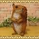 りす 置物 Bタイプ リアルな動物のオブジェ スタンド リスのフィギュア ガーデニング◇お部屋のインテリアにお庭のオーナメントとしても♪