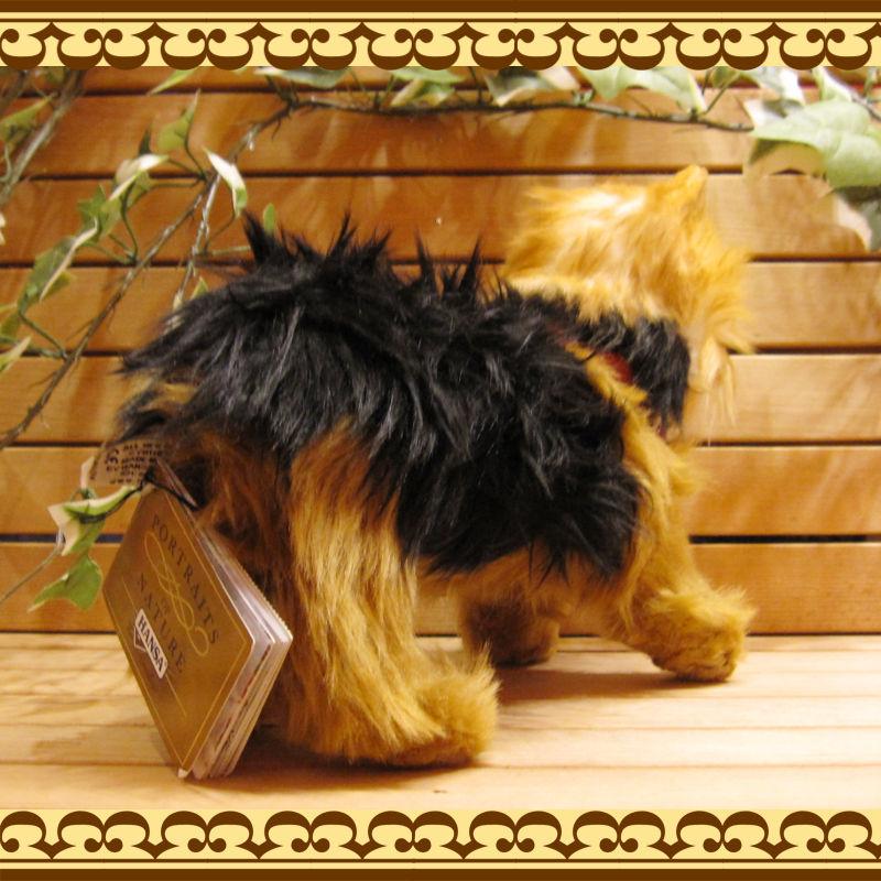リアルな犬のぬいぐるみ ヨークシャーテリア  子犬